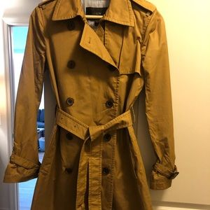 JCrew Trench Coat ( New condition with tag on)
